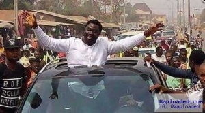 Photos: See How Mercy Johnson's Husband Was Welcomed Like A King In His Hometown